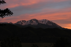 Pink Sunset over Sopris