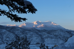 Winter Sunset over Sopris